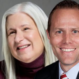 Nancy Snow and Scott Beck